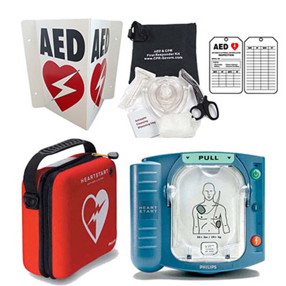 Phillips HeartStart On-Site Defibrillator Value Pack