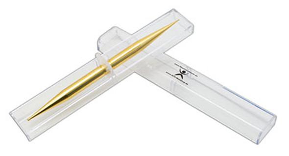 AFH massage stick, gold plated, w/box, fine