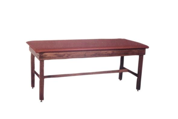 Hardwood Treatment Tables - Fixed Height