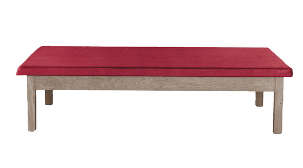 Fixed Height Upholstered Mat Platform Tables