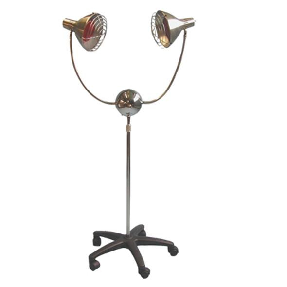 Infra-red (IR) Lamp - 2-head with timer (350 watt)