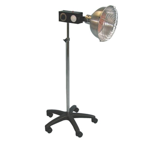 Professional infra-red ceramic 750 watt lamp, intensity control
