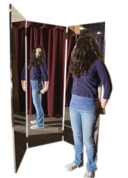 Glassless Stationary Mirrors