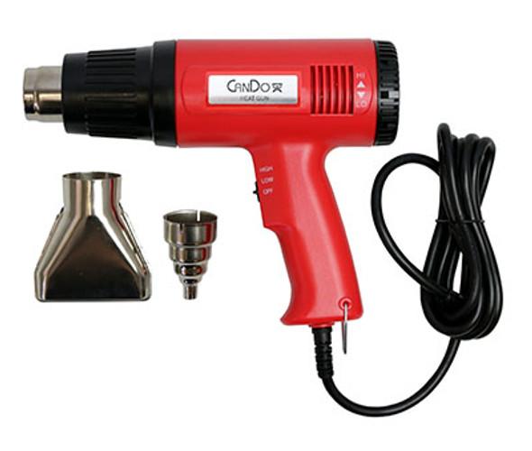 "CanDo Heat Gun Kit- includes heat gun, 3/8"" Air Concentrator, 3"" Air Spreader, case"