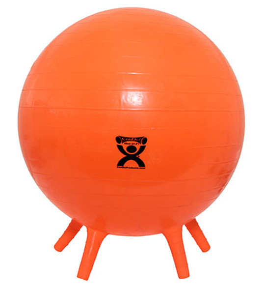 CanDo Inflatable Exercise Balls with Feet