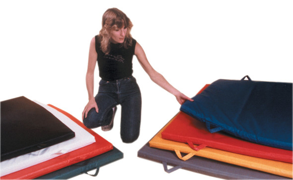 Non-Folding Exercise Mats with Handles