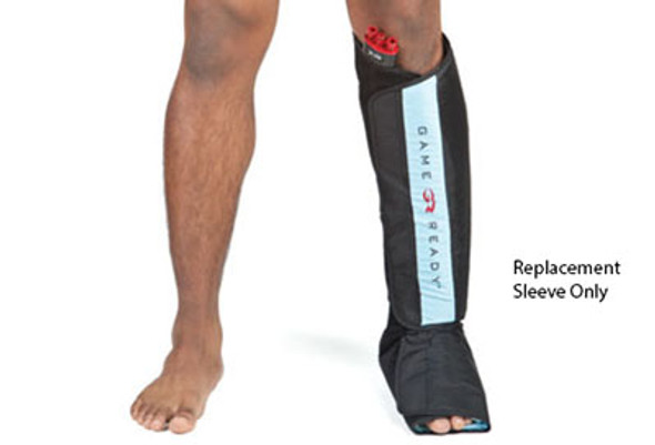 Game Ready Additional Sleeve (Sleeve ONLY) - Lower Extremity - Half Leg Boot - Large