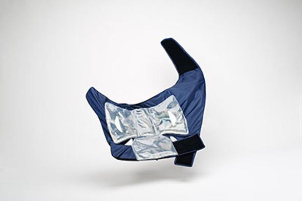 Squid Cold Compression Left Shoulder Wrap and Gel Pack, Large
