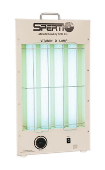 Vitamin D/UV-F florescent lamp, tabletop model