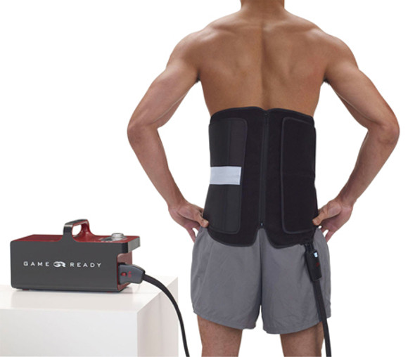 Game Ready Wrap - Mid Body - Back
