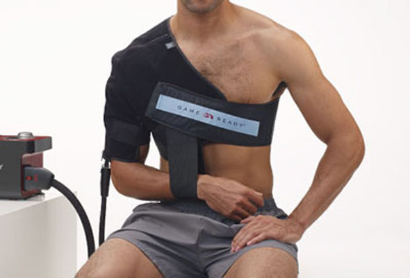 "Game Ready Wrap - Upper Extremity - Right Shoulder - Medium (33-45"" chest)"