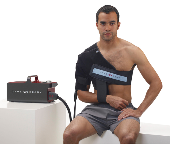 "Game Ready Wrap - Upper Extremity - Left Shoulder - Large (40-55"" chest)"
