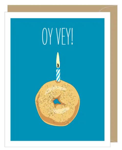 Oy Vey!...Greeting Card
