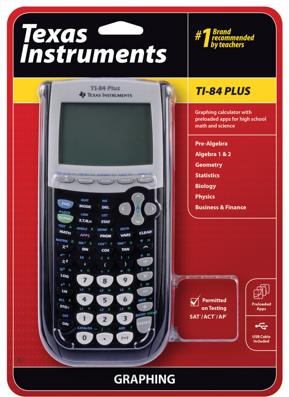 New Texas Instruments TI-84 Plus Professional Graphing Calculator 033317192120