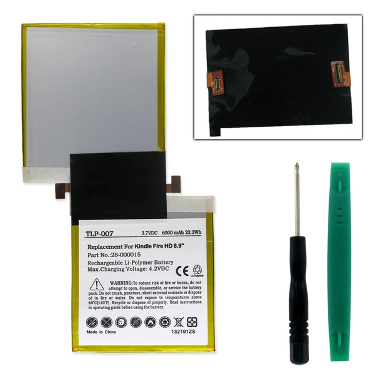 AMAZON KINDLE FIRE HD 40.40 40G Tablet Battery BB 20401402