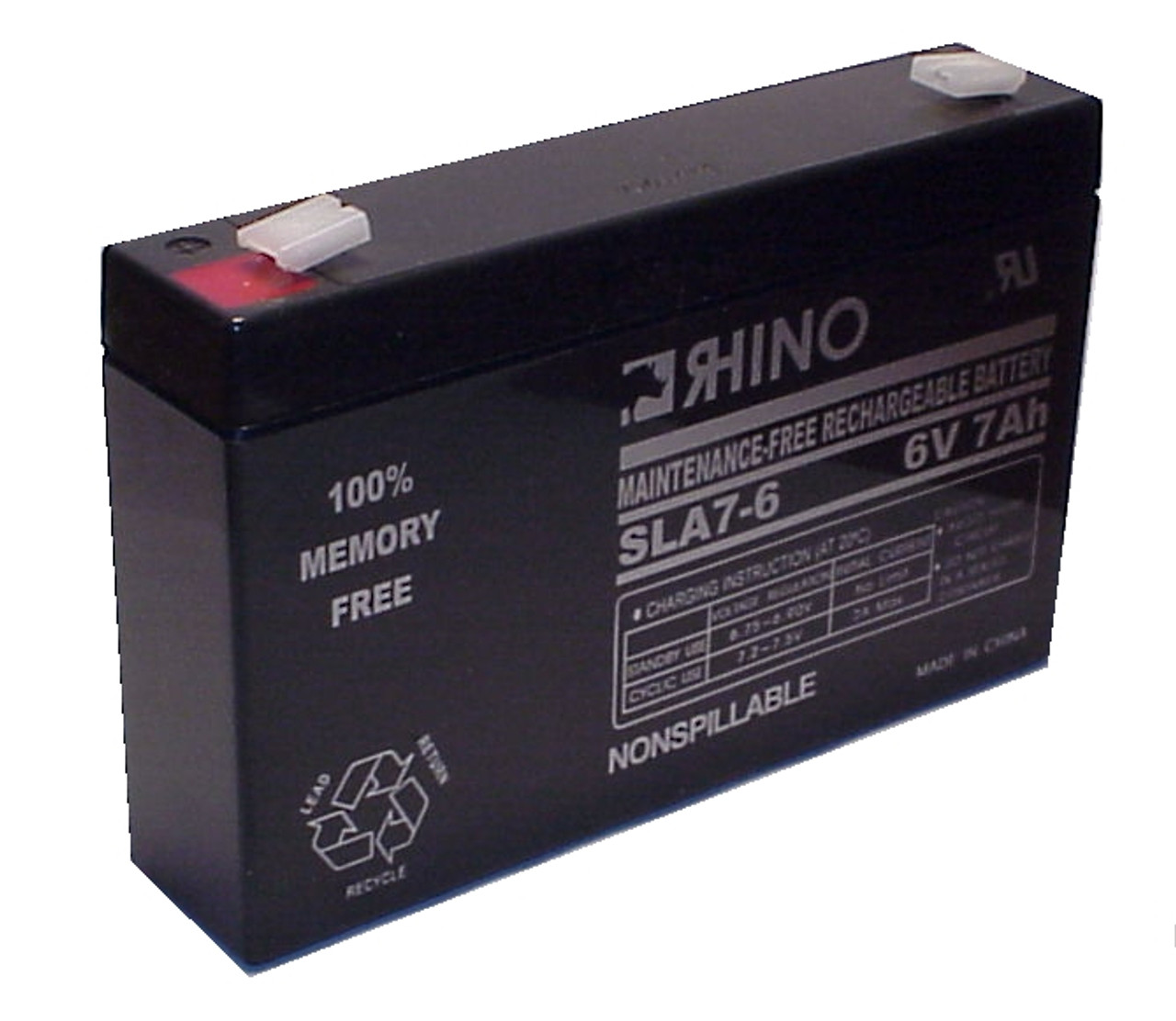 LITHONIA ELB0607 battery (replacement)