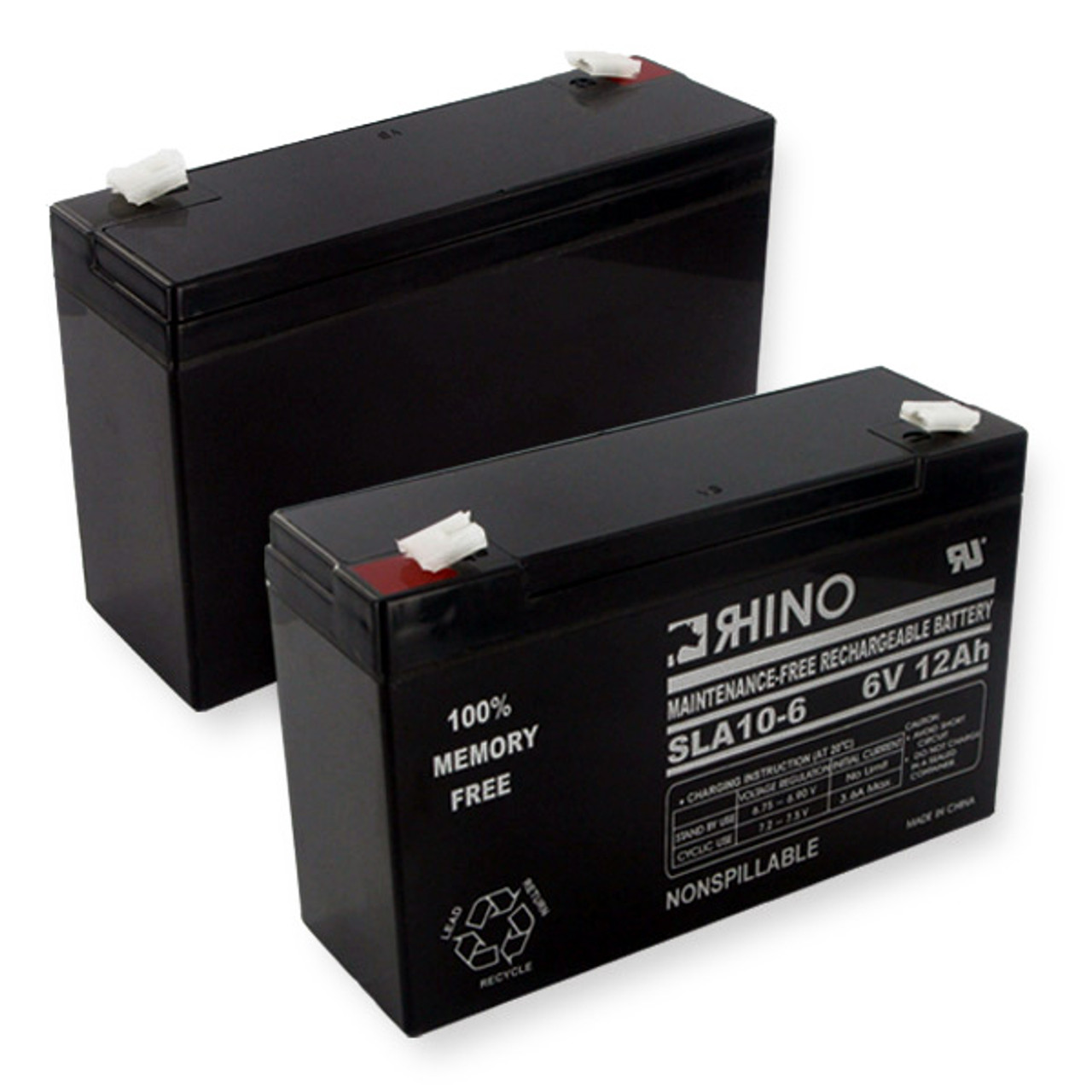 LITHONIA ELB0610 battery (replacement)