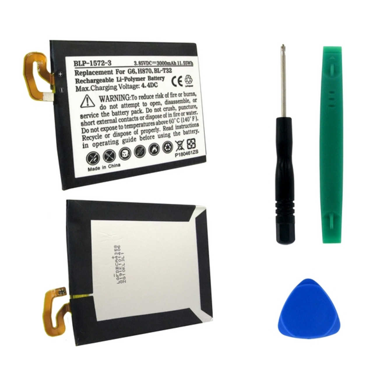 LG BL-T32 LI-POL Replacement Battery with Tools