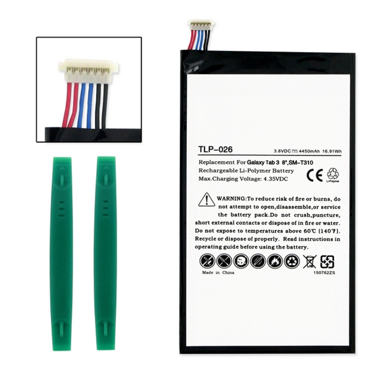 Samsung GALAXY SM-T310 Replacement Tablet Battery With Tools
