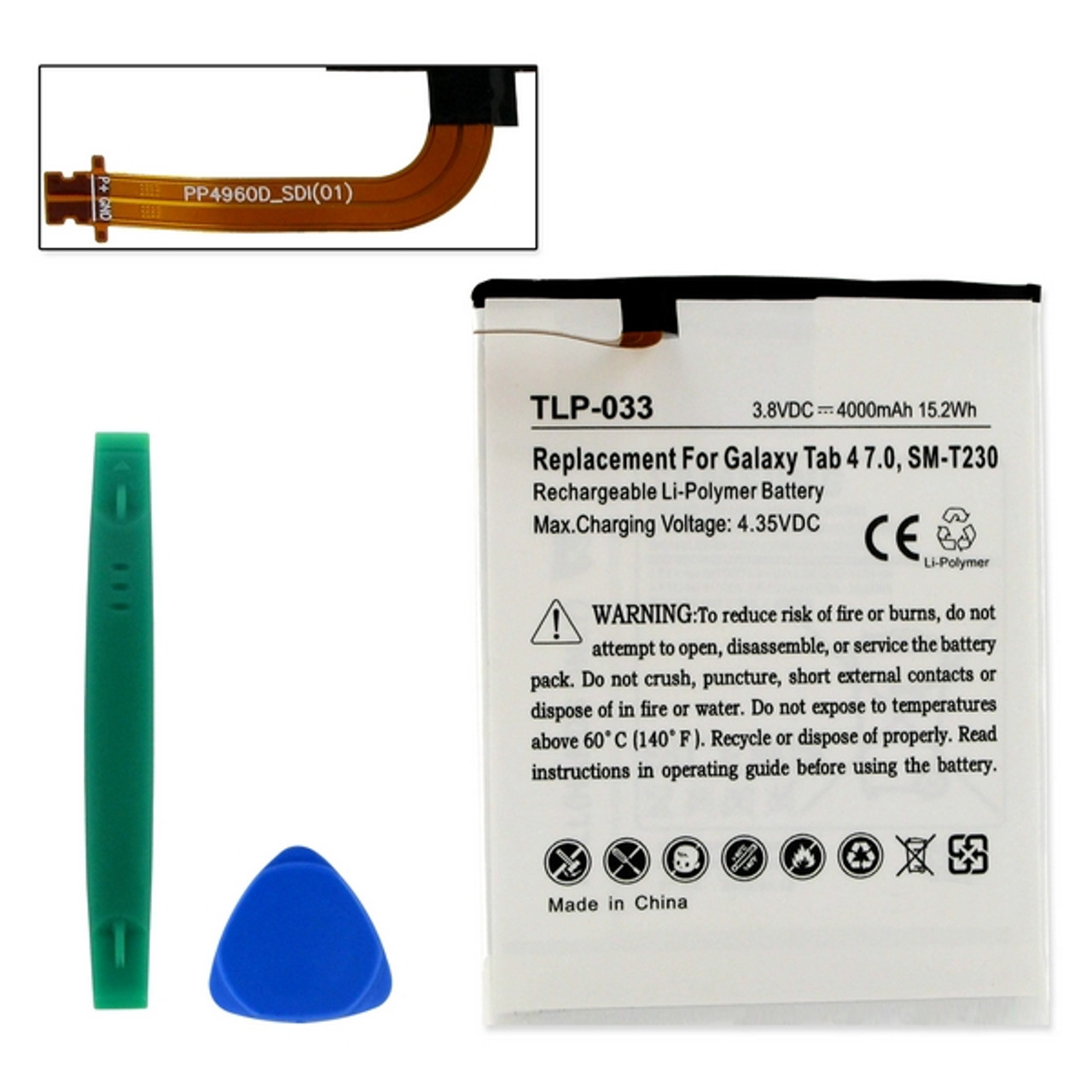 Samsung GALAXY SM-T230R Tablet Battery With Tools