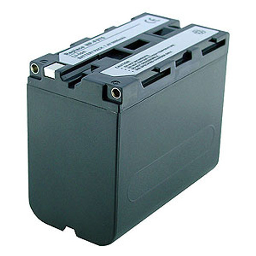 6000mAh Rechargeable Battery for Sony Handycam DSR-PD150P Camera