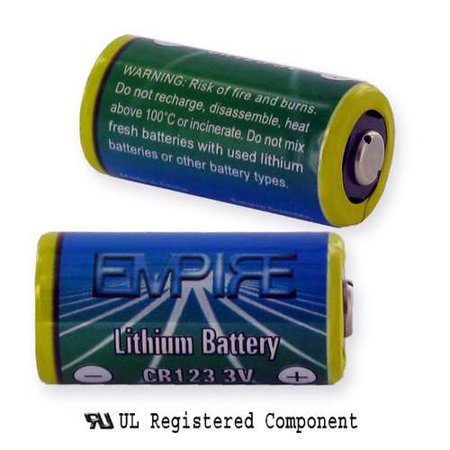 Duarcell DL123A Flashlight Battery