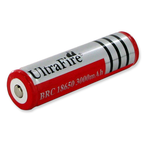 ULTRAFIRE 18650 RECHARGABLE Flashlight Battery
