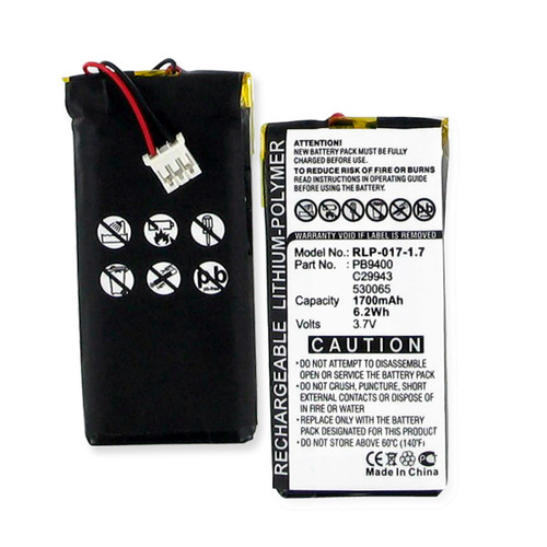 Philips 530065 Remote Control Battery