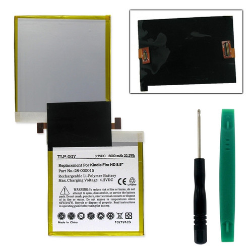 AMAZON KINDLE FIRE HD 8.9 Tablet Battery