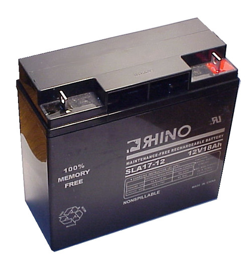 EMPIRE 12 VOLTS @ 18 AH battery (replacement)