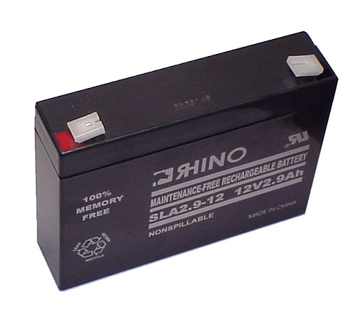 EMPIRE 12 VOLTS @ 2.9 AH battery (replacement)
