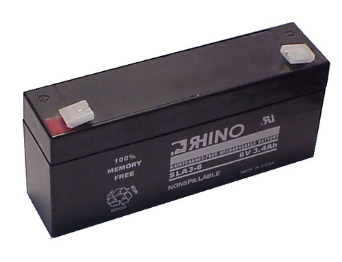 EMPIRE 6 VOLTS @ 3.4 AH battery (replacement)