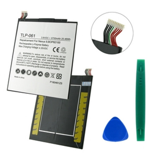 GOOGLE NEXUS 9, BOP82100, 3.8V 6700mAh BATTERY