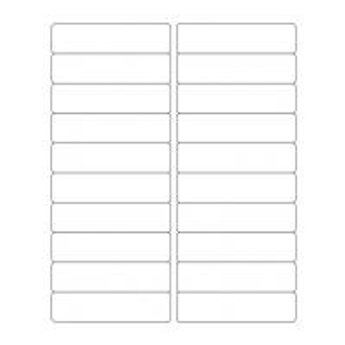 Avery 5161 Compatible Address Labels (100 sheets, 20 labels per Sheet)