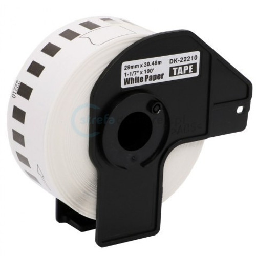 Brother DK-2205 Compatible White Paper Continuous Paper Tape
