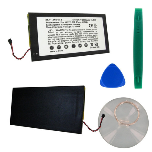 Motorola HZ40 Battery with Tools