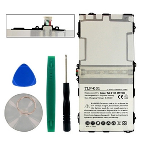 SAMSUNG EB-BT800FBC 3.8V 7900mAh Replacement Tablet Battery With Tools (BKGT-100)