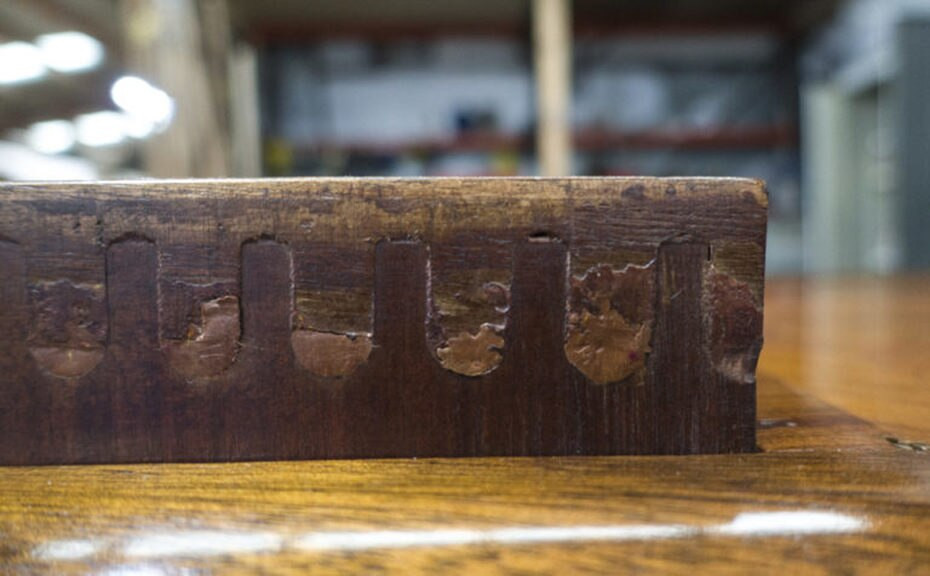 Dating Furniture Using Dovetail Joints