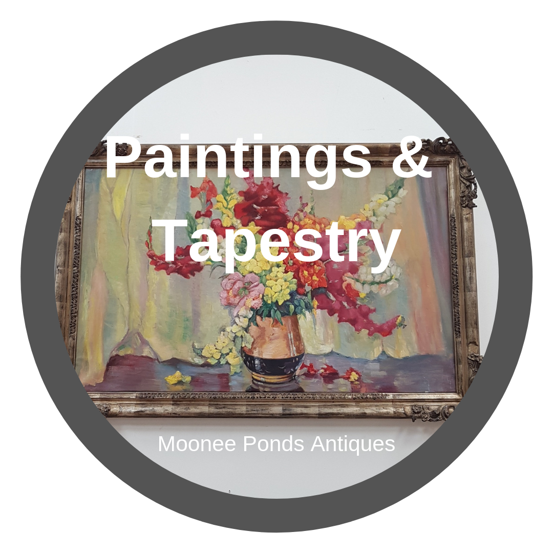 Antique Paintings & Tapestry