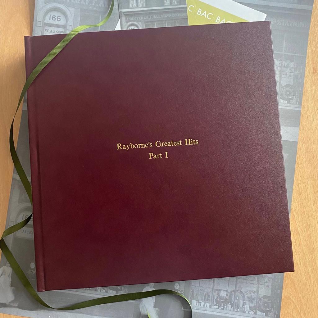 Traditional Classic Burgundy Leather Photo Album