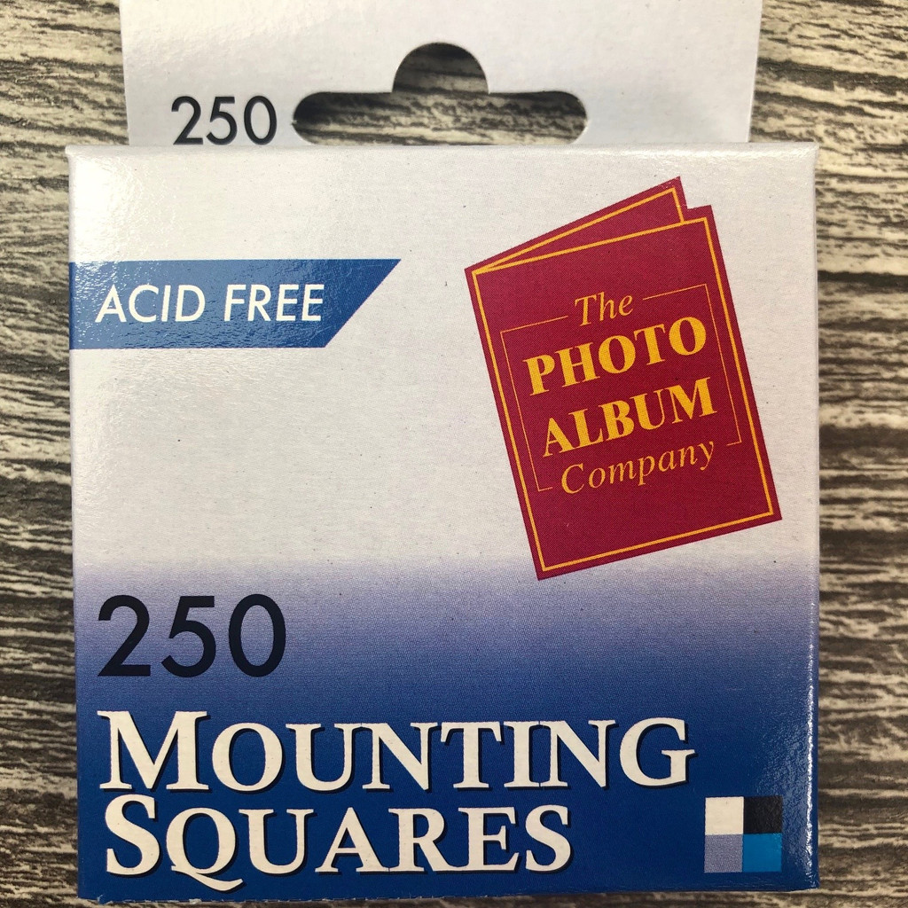 250 Adhesive Photo Mounting Squares