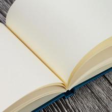 Teal Satin Wedding Guest Book