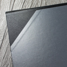A3 Brushed Steel & Black Art Portfolio / Cachet Portfolio