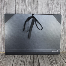 A3 Carbon Weave & Black Art Portfolio / Cachet Portfolio