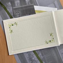 Condolence - Remembrance Book - White