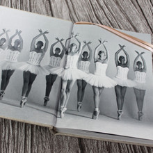 Personalised Linen Ballet Journal - Ballet Diary