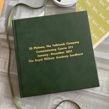 Traditional Dark Green Leather Photo Album