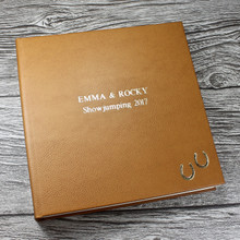 Personalised Horse Photo Album