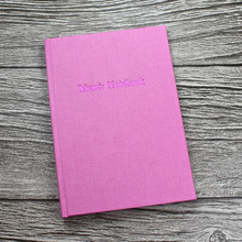 Mother's Day Journal / Notebook - Pink Linen - A5 Portrait