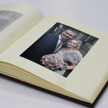 Traditional Classic Brown Vintage Effect Leather Photo Album